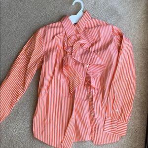 Ralph Lauren ruffle shirt